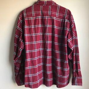 Wrangler Shirts - Wrangler Premium Quality Red Flannel Button Shirt